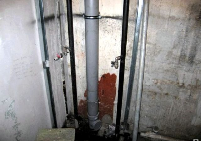 Замена системы водоснабжения и канализации