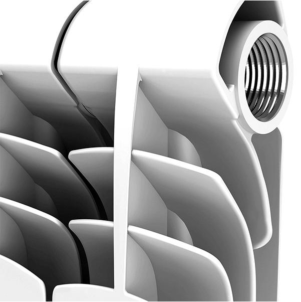 Алюминиевые радиаторы для низкотемпературных установок
