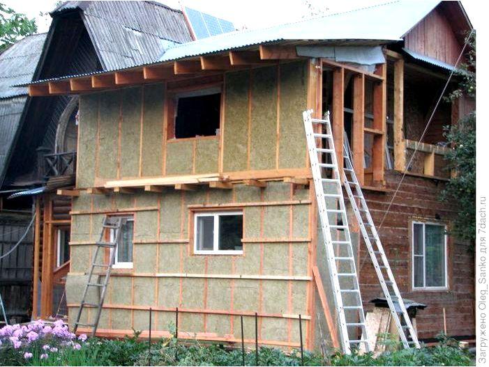Как утеплить стены старого дома?