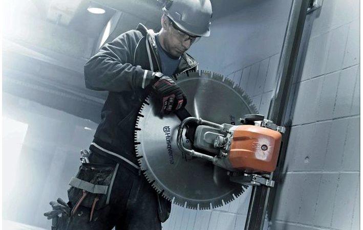 Какое применяют оборудование для резки бетона
