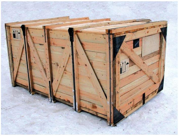 Преимущество деревянной тары