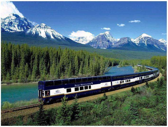 Поездка на поезде по Европе