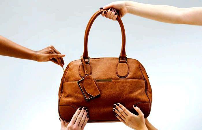 Правильный уход за сумкой из кожи
